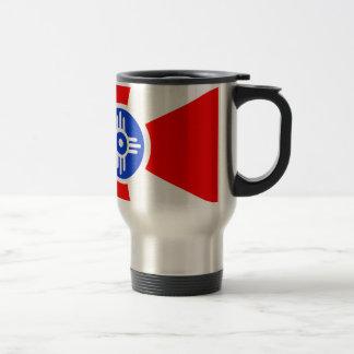 Flag of Wichita Kansas Travel Mug