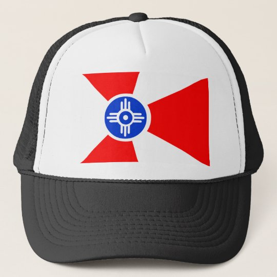 Flag of Wichita Kansas Trucker Hat