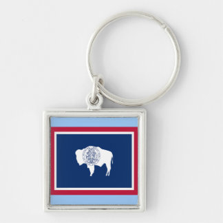 Flag of Wyoming Key Chain