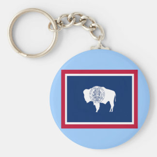 Flag of Wyoming Key Chains