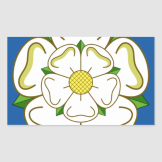 Flag of Yorkshire Rectangular Sticker