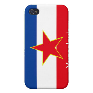 Flag of Yugoslavia iPhone 4/4S Covers