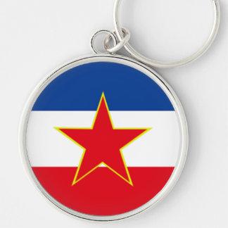 Flag of Yugoslavia Key Chain