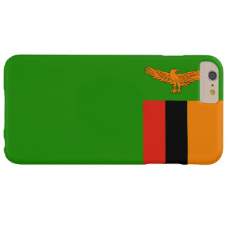 Flag of Zambia Barely There iPhone 6 Plus Case