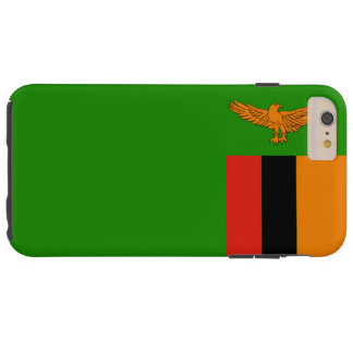 Flag of Zambia Tough iPhone 6 Plus Case