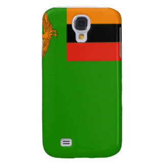 Flag of Zambia Samsung Galaxy S4 Cases