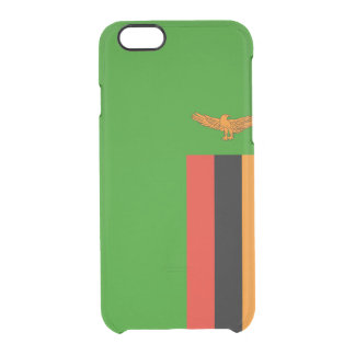 Flag of Zambia Clear iPhone Case