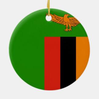 Flag of Zambia Ornament