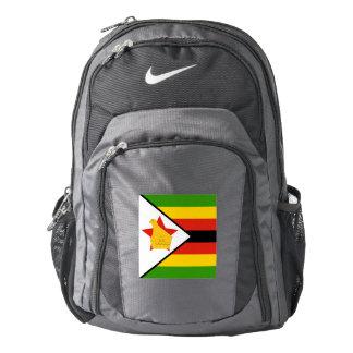 Flag of Zimbabwe Africa Backpack