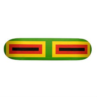 Flag of Zimbabwe African National Union Custom Skate Board