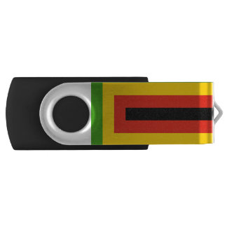 Flag of Zimbabwe African National Union USB Flash Drive