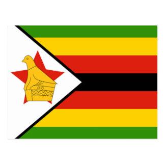 Flag of Zimbabwe Postcard