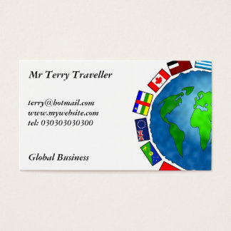 Flag Planet, Business Card