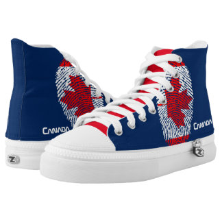 Flag Printed Shoes
