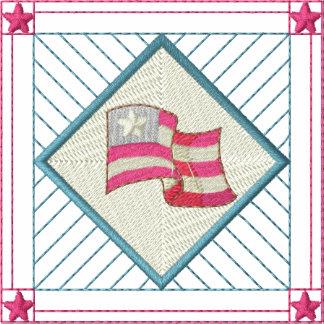 Flag Quilt Square