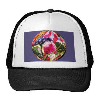 flag roses circle jpg mesh hats