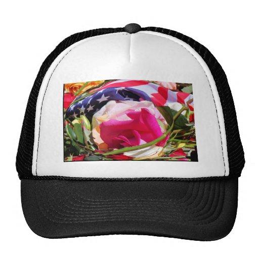 flag roses.jpg trucker hats