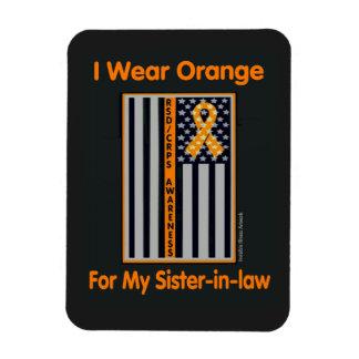Flag/Sister-in-law...RSD/CRPS Rectangular Photo Magnet