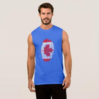 Flag Sleeveless Shirt
