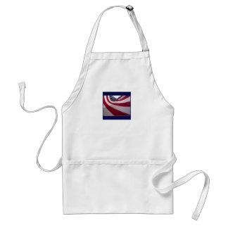 flag standard apron