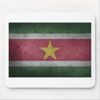 Flag Suriname Mouse Pad