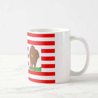 FLAG the USA BISON 1.PNG Coffee Mugs