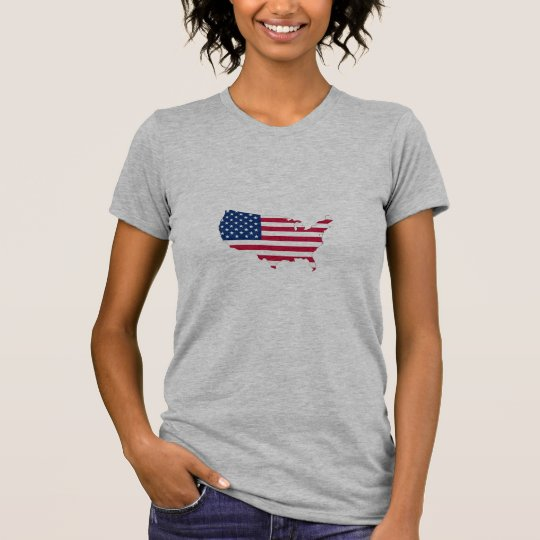 Flag the USA country T-Shirt