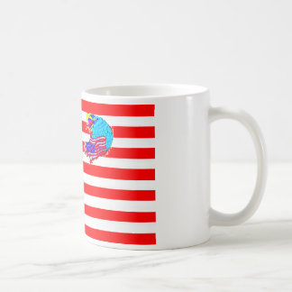 FLAG the USA EAGLE 1.PNG Coffee Mugs
