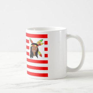 FLAG the USA INDIAN 1.PNG Mugs