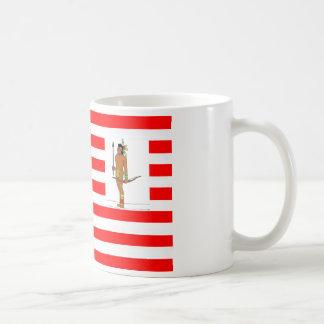 FLAG the USA INDIAN HUNTER 1.PNG Coffee Mugs