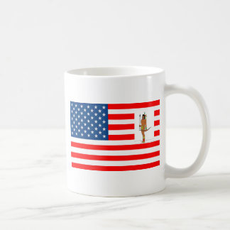 FLAG the USA INDIAN HUNTER 1.PNG Coffee Mug