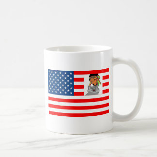FLAG the USA INDIAN WOLF 1.PNG Mugs