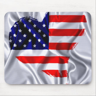 Flag the USA Mouse Pad