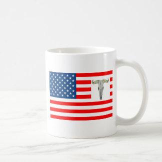 FLAG the USA SHOWS OFF OF BISON 1.PNG Coffee Mug