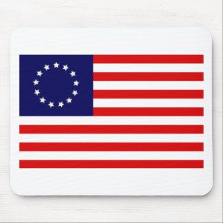 Flag U S 13 star Mouse Mat