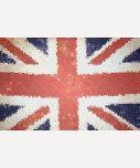 Flag Union Jack United Kingdom mosaic
