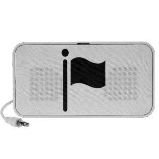 Flag Waving Laptop Speakers
