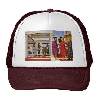 Flagellation Of Christ By Piero Della Francesca Mesh Hat
