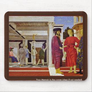 Flagellation Of Christ By Piero Della Francesca Mousepad