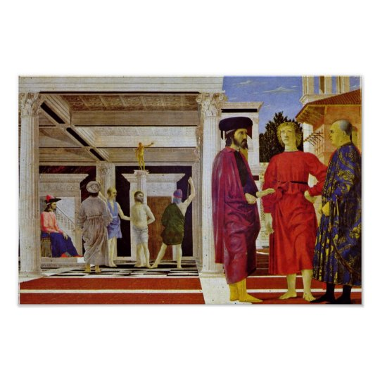 Flagellation Of Christ By Piero Della Francesca Poster