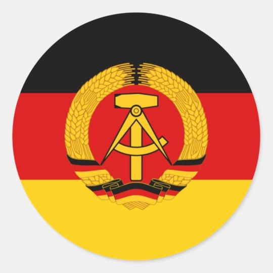 Flagge der DDR - Flag of the GDR