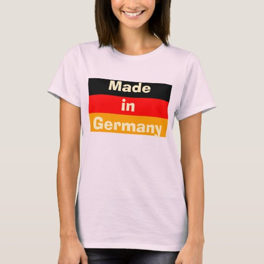Flagge, MadeinGermany T-Shirt