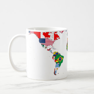 Flagged world mug
