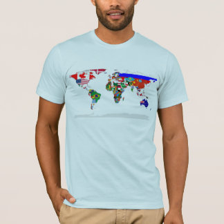 Flagged world T-Shirt