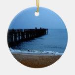 Flagler Beach Pier Christmas Tree Ornament