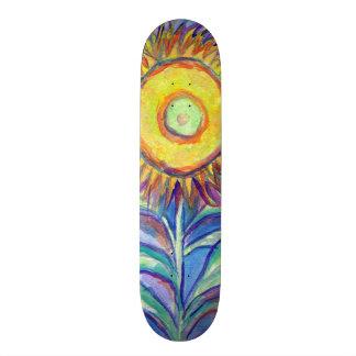 Flagler Beach Sunflower 19.7 Cm Skateboard Deck