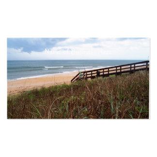 Flagler Beach Walkway Business Card Templates