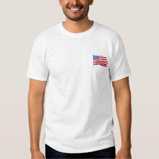 flags-american-waving-in-the_wind, Rememberin N... Tee Shirt