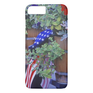 Flags and Flowers in Philipsburg Montana iPhone 8 Plus/7 Plus Case