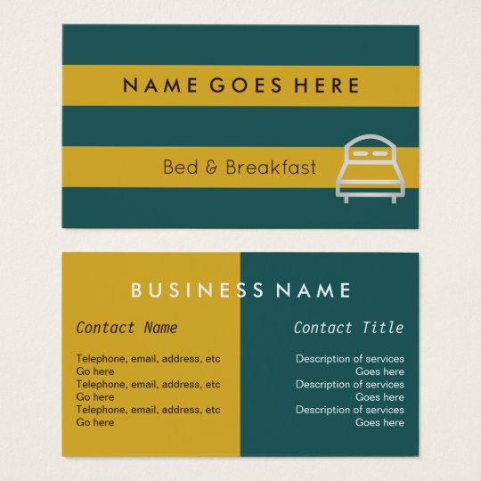 """""""Flags"""" B&B Business Cards"""